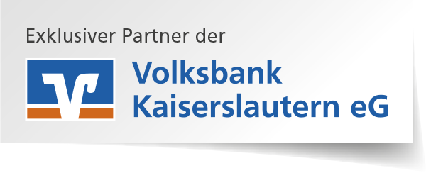 Exklusiver Partner der Volksbank Kaiserslautern eG